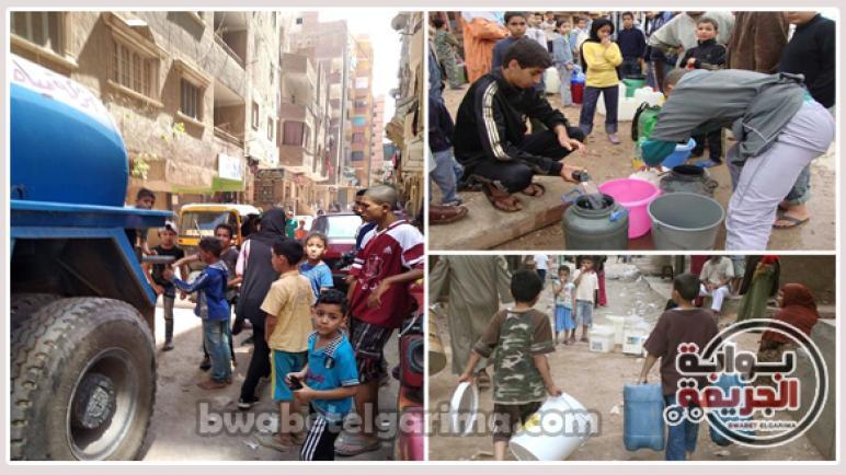 تفاصيل مرعبة عن الكارثة التي تهدد حياه مليون مواطن لايجدوا كوب ماء فى شارع فيصل