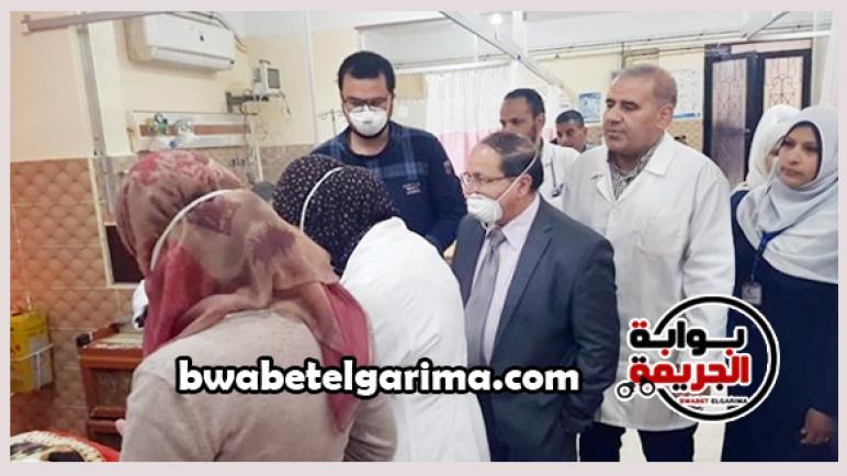 التفاصيل الكاملة فى اصابة ممرضة بمستشفى الباجور بفيروس كورونا
