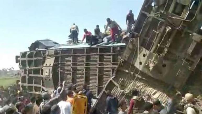 تحقيقات «قطارى سوهاج» : تعاطى «حشيش وترامادول» ووقائع تزوير وراء الحادث