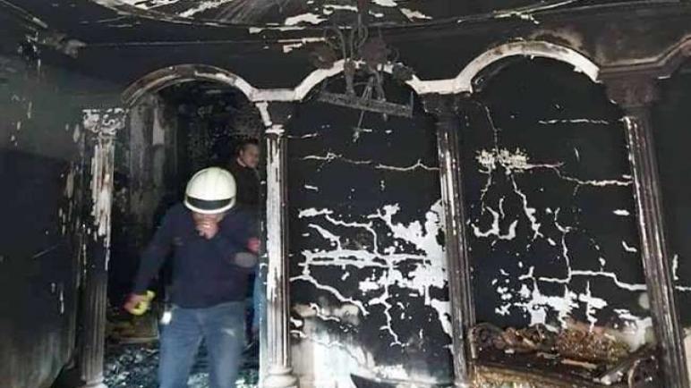 التفاصيل الكاملة لحريق فيلا والد الفنان إيهاب توفيق
