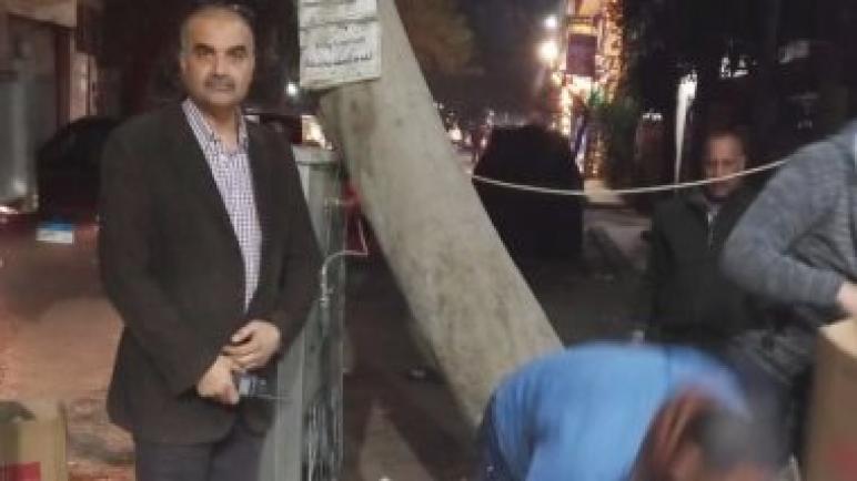 رئيس حي الدقي يقود حملة انضباطية لرفع الاشغالات .. صور