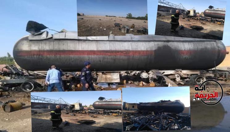 حاول تهريب الغاز الصب وتعبئة اسطوانات البوتاجاز بطريقة غير شرعية فوقعت الكارثة بقنا